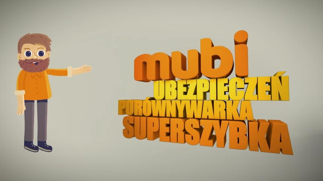 Reklama Mubi - kierowca